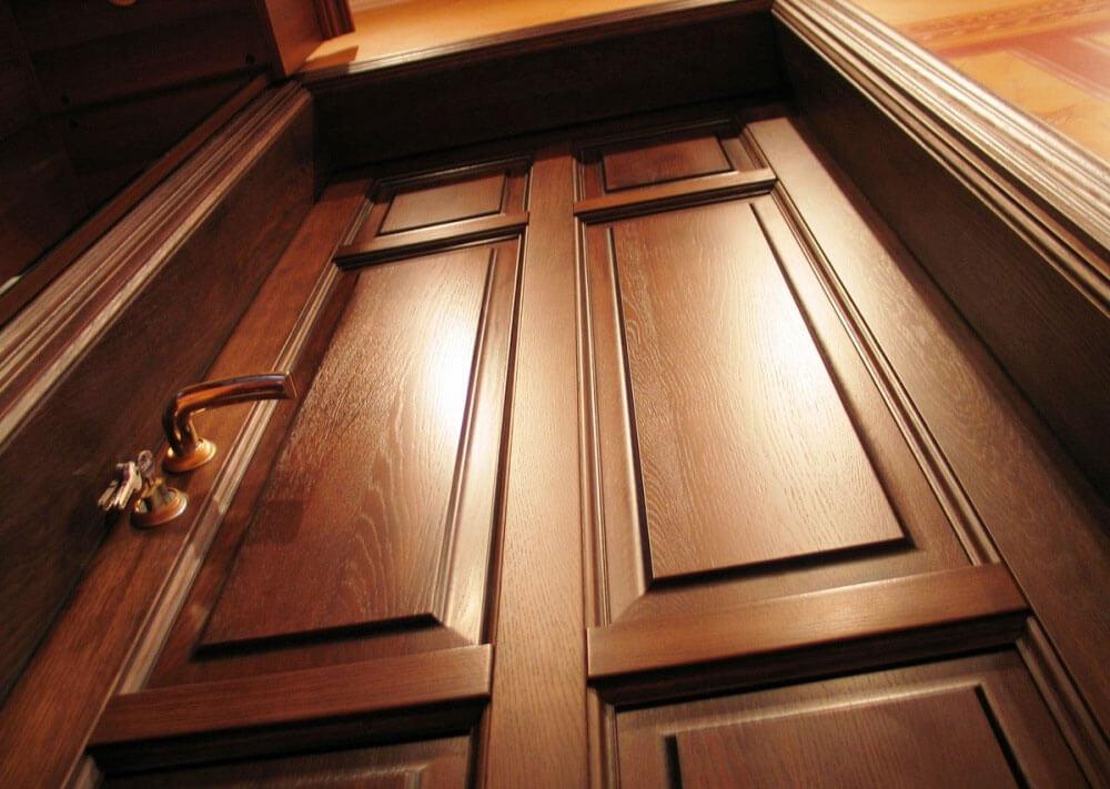 Межкомнатные Двери из клееного массива