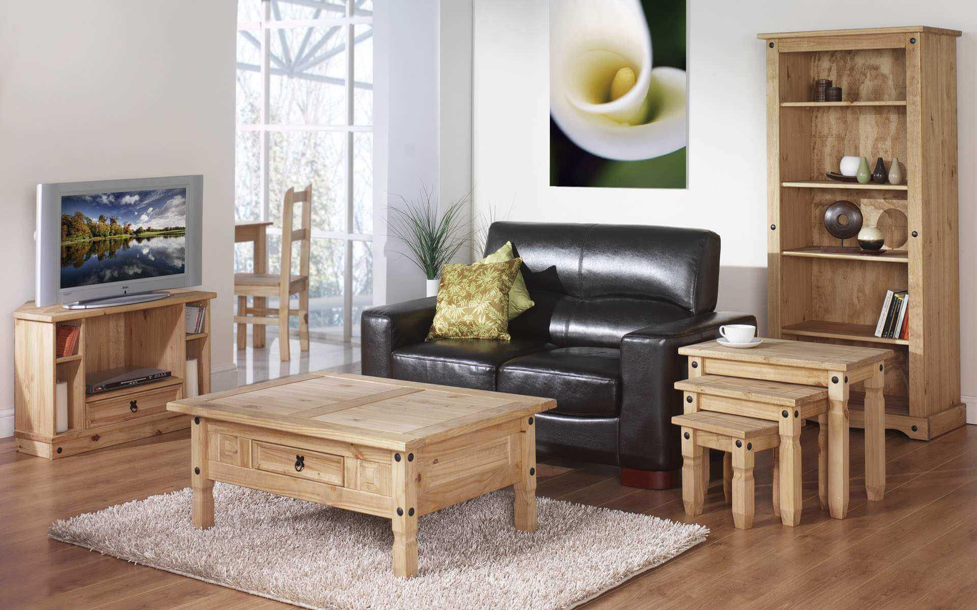 мебель из дерева деревянная в современном стиле дизайне интерьере